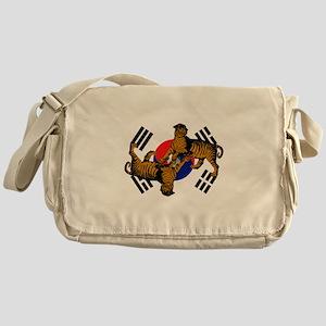 Korean Tigers Messenger Bag
