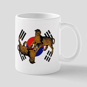 Korean Tigers Mug