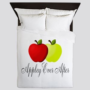 Appley Ever After Queen Duvet