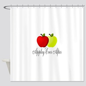 Appley Ever After Shower Curtain
