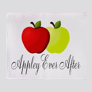 Appley Ever After Throw Blanket