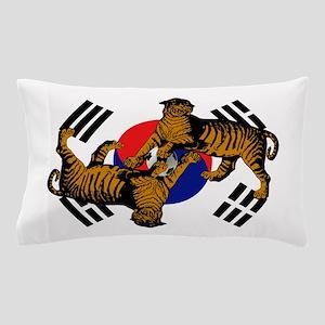 Korean Tigers Pillow Case