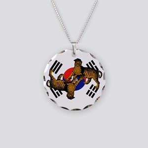 Korean Tigers Necklace