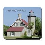 Eagle Bluff Lighthouse Mousepad