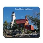 Eagle Harbor Lighthouse Mousepad