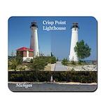 Crisp Point Lighthouse Mousepad