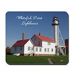 Whitefish Point Lighthouse Summer Mousepad