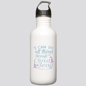 Philippians 4-13 Water Bottle