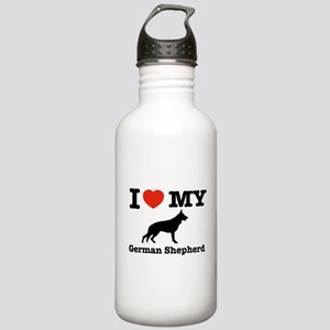 I love my German Sheph Stainless Water Bottle 1.0L