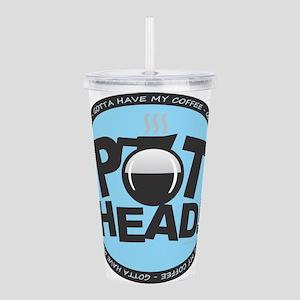 Pothead - Blue Acrylic Double-wall Tumbler
