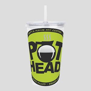 Pothead - Green Acrylic Double-wall Tumbler