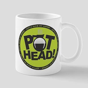 Pothead - Green Mugs