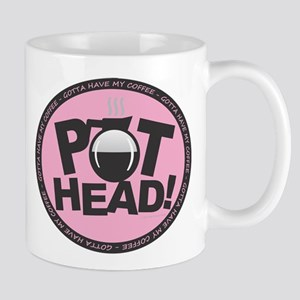 Pothead - Pink Mugs