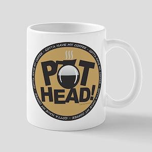 Pothead Gold Mugs
