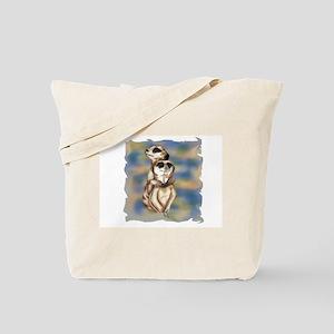meerkat hugs Tote Bag
