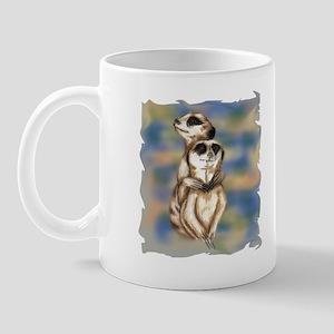 meerkat hugs Mug