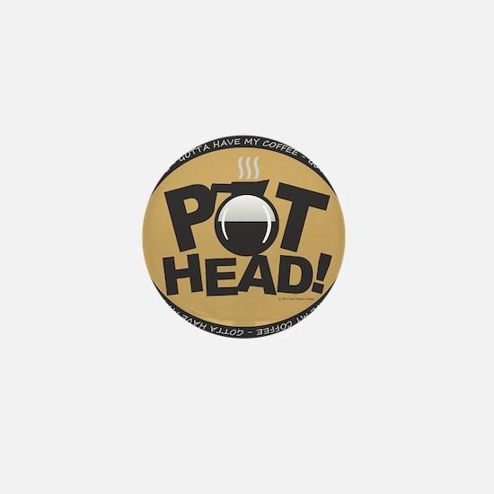 Pothead Gold Mini Button