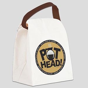 Pothead Gold Canvas Lunch Bag