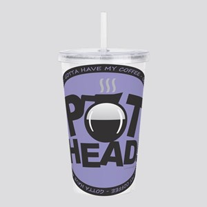Pothead Purple Acrylic Double-wall Tumbler