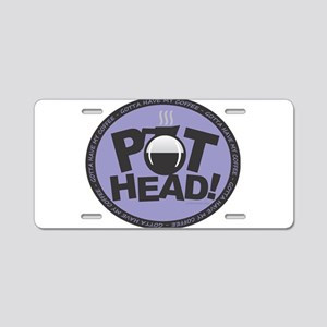 Pothead Purple Aluminum License Plate