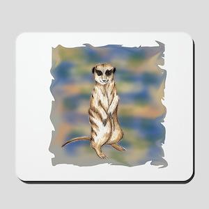 meerkat solo Mousepad