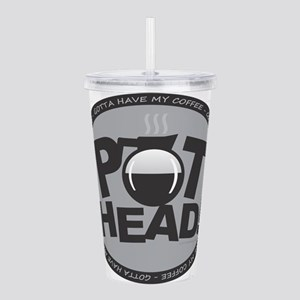 Pothead Gray Acrylic Double-wall Tumbler
