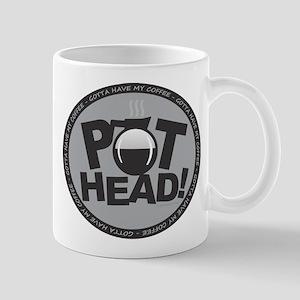 Pothead Gray Mugs