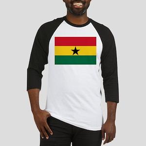 Flag of Ghana Baseball Jersey