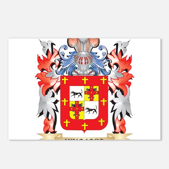 Hinojosa Coat of Arms - F Postcards (Package of 8)