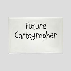 Future Cartographer Rectangle Magnet