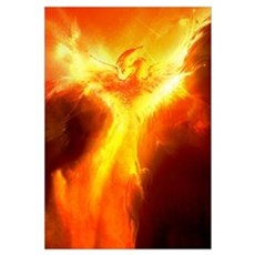 Phoenix Rising Canvas Art