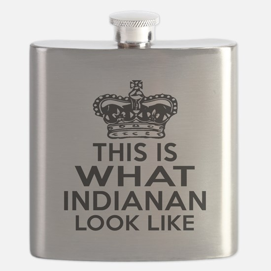 This Is What Indiana Look Like Flask