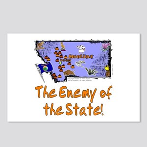 MT-Enemy! Postcards (Package of 8)