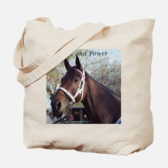 Cool Horse power Tote Bag