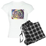 Spinning Colors Abstract Pajamas