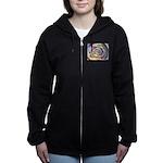 Spinning Colors Abstract Women's Zip Hoodie