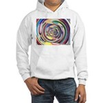 Spinning Colors Abstract Hoodie