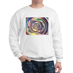 Spinning Colors Abstract Sweatshirt