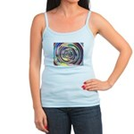 Spinning Colors Abstract Tank Top