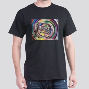 Spinning Colors Abstract T-Shirt