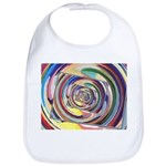 Spinning Colors Abstract Bib