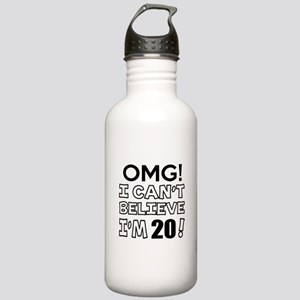Omg I Can Not Believe Stainless Water Bottle 1.0L