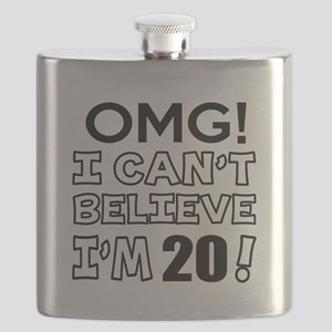 Omg I Can Not Believe I Am 20 Flask