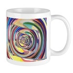 Spinning Colors Abstract Mugs