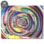 Spinning Colors Abstract Puzzle