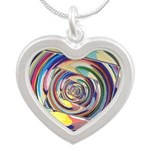 Spinning Colors Abstract Necklaces