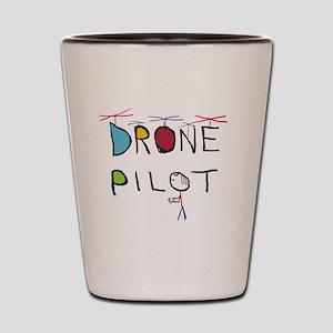 Drone Pilot 3 Shot Glass