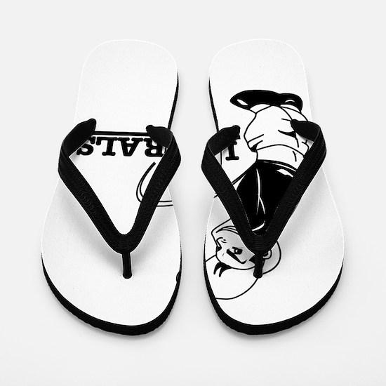 Anti Liberal designs Flip Flops