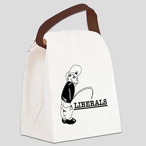Anti Liberal designs Canvas Lunch Bag