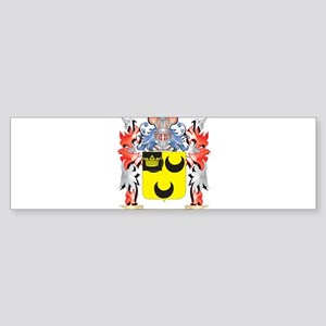 Hodgkin Coat of Arms - Family Crest Bumper Sticker